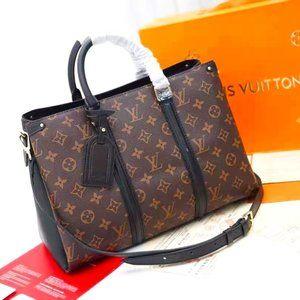 Louis Vuitton SOUFFLOT MM Shoulder bag NWT 2